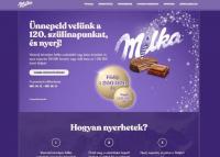 120 éves Milka csokoládé