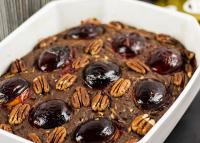 Őszi csokis sütemény szilvával és cukkinivel!