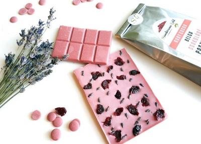 Sambirano Gold Ruby csokoládé levendulával és aszalt vörösáfonyával
