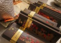 Olvadó csokoládéfolyam a Balatonnál