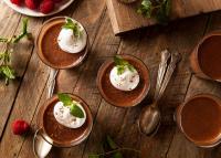 3 hozzávalós csokoládés pohárkrém kókusztejjel – Pillanatok alatt elkészül